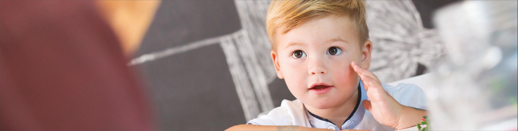 Enfant blond